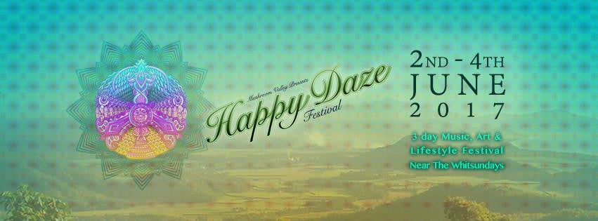 Happy Daze Festival | June 2nd – 4th | QLD