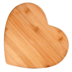 Bamboo Cutting Board, Small (Heart-Shaped)