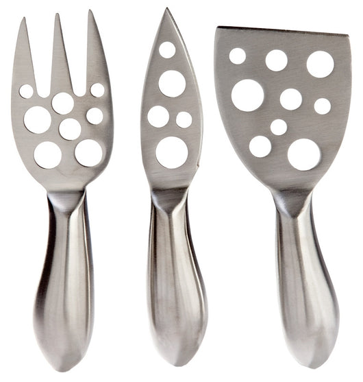 Small Cheese Tool Set, Stainless Steel (3 Pieces)