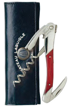 Chateau Laguiole Waiter's Corkscrew, Red Stamina Wood Grand Cru