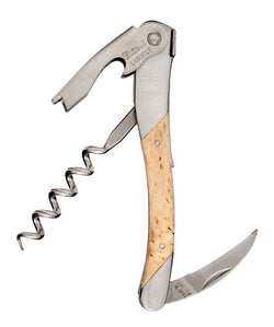 Chateau Laguiole Waiter's Corkscrew, Grand Cru Birch Wood