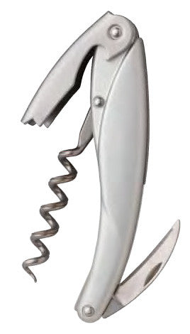Ketos Waiter's Corkscrew, Natural Aluminum