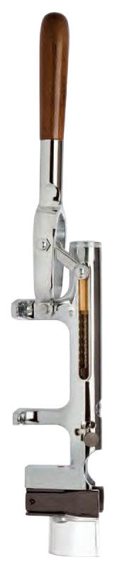 Zeus Uncorking Machine, Wall Mount, Nickel Plated
