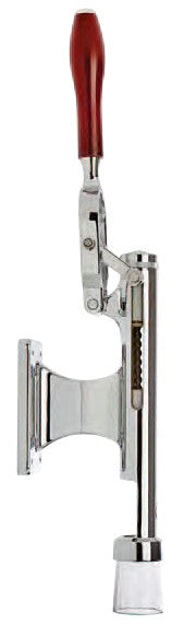 Bar-Pull Cork Remover, Wall Mount, Chrome Plated
