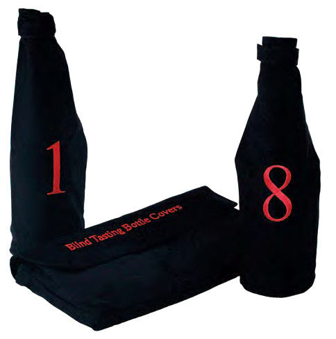 Blind Wine Tasting Kit with Storage Pouch, Professional Set