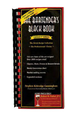 The Bartender's Black Book, Updated 9th Edition