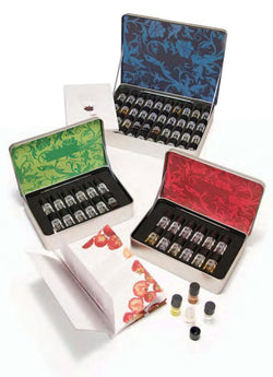 Red Wine Essences Collection, 12 each in New Metal Box