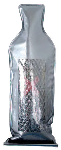 Wine Safeguard Reusable Bottle Protector- Silver