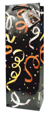 Party Time  Paper Wine Bag