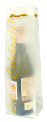 Celebration  Translucent Plastic Wine Bag