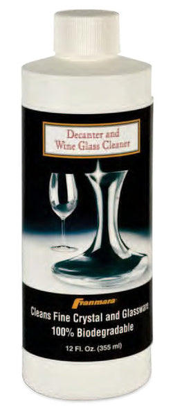 Decanter and Wine Glass Cleaner, 12 oz.