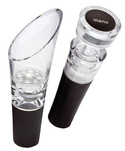 Selection Decanting Pourer and Vacuum Stopper