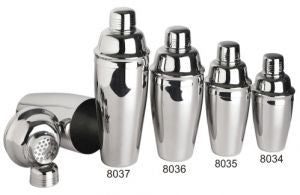LUSTRUM? Cocktail Shaker Set, 8 oz., Stainless Steel