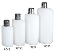 Plastic Travel Flask, 16 oz.