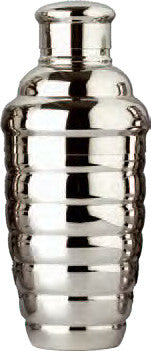 Convex Cocktail Shaker Set, 12 oz., Stainless Steel