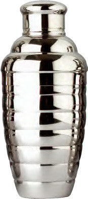Convex Cocktail Shaker Set, 18 oz., Stainless Steel
