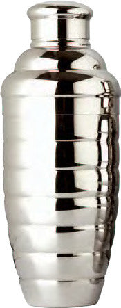 Convex Cocktail Shaker Set, 24 oz., Stainless Steel