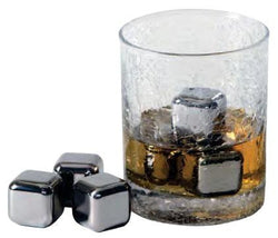Steel-Ice Cubes Deluxe Set, Stainless Steel