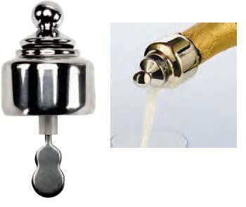 Auto-Close Pour & Seal for Champagne
