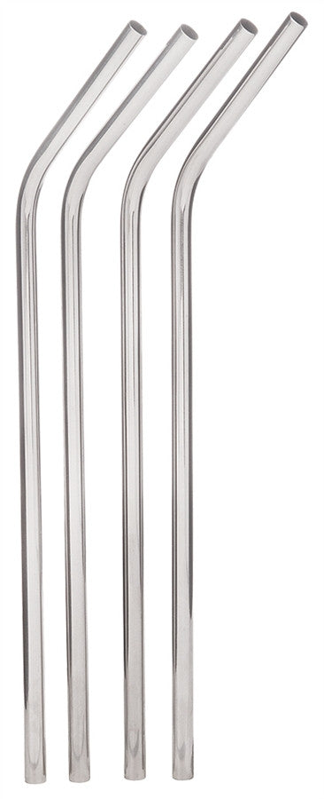 Stainless Steel Straws Set (4 each 8296/1 each 8297)