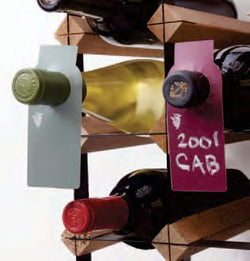 Chalkboard Wine Bottle Tags (40)- Chalk Included