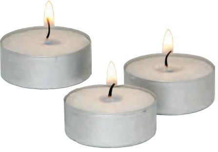 Tealight Candles (Pack of 25 each)