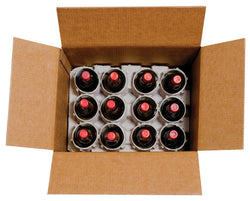 12-Bottle Wine Pulp Shipper