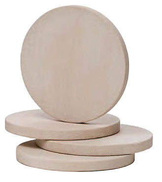 Sandstone Coasters, Natural Beige, Set of 4