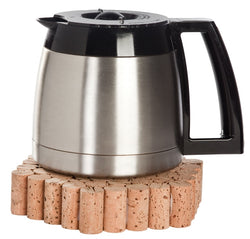 Wine Cork Trivet (61 Natural Corks)- 100% Natural Cork