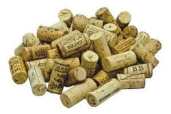 Recycled Natural Corks from Wine Bottles (Pack of 50)