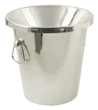 Ideal Stainless Steel Wine Tasting Receptacle (Spittoon), 2 Pieces