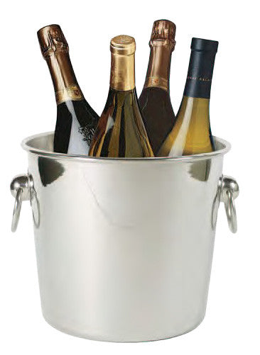 Ideal Quattro Wine and Champagne Chiller, Stainless Steel