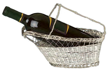 Wine Cradle- Silver Plated