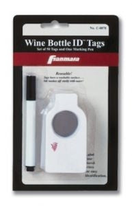 Wine Bottle ID Tags