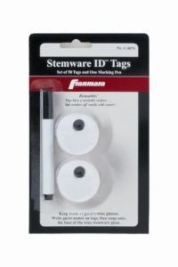 Stemware ID Tags, Carded Pack