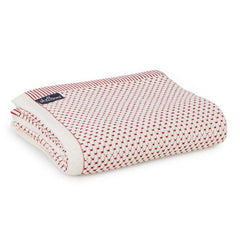 St Albans Cotton Throw, Red Baron