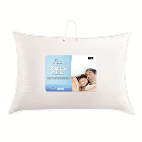 Moemoe Feather & Down Pillows, standard PAIR
