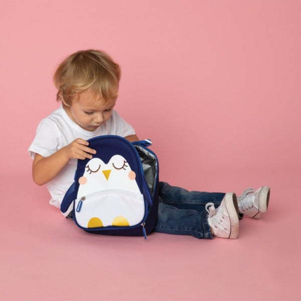 Sunnylife Kids Lunch Bag, Penguin