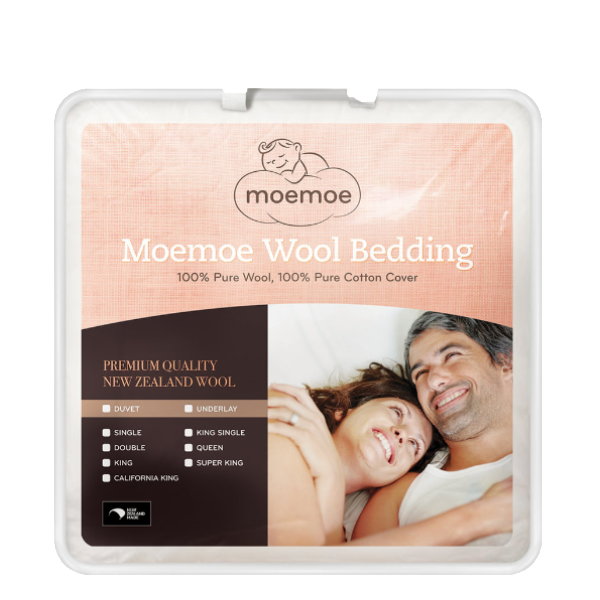 MOEMOE 100% NZ Wool Duvets, Everyday Weight