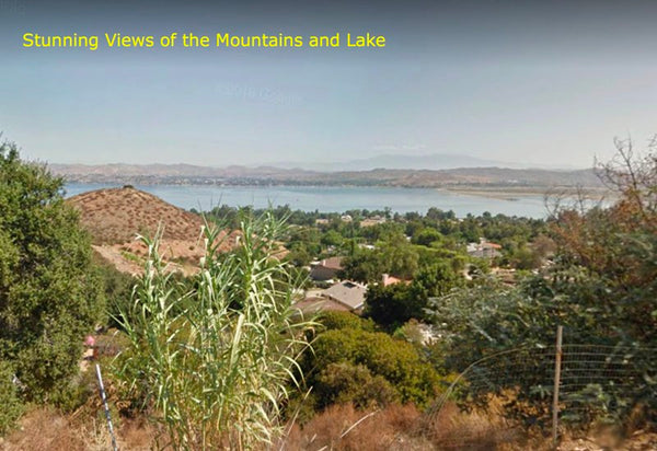 .26 Acre Hillside Lot with Mountain & Lake Views