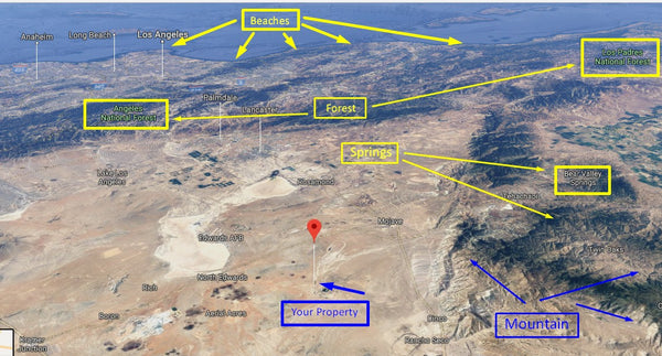 Pristine .23 acre Lot Fit to Build Residence Near California City-Owner Finance