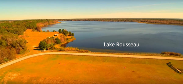 Residential 1 Acre Lot for Sale on Paved Road Next to Lake Rousseau.