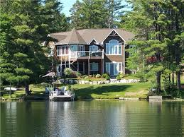 Stunning .40 Acre Waterfront Property on George Lake with Owner Finance