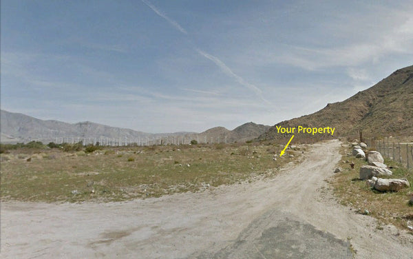 Pristine .17 Acre Cleared Lot at Cabazon Estates - Financing Available