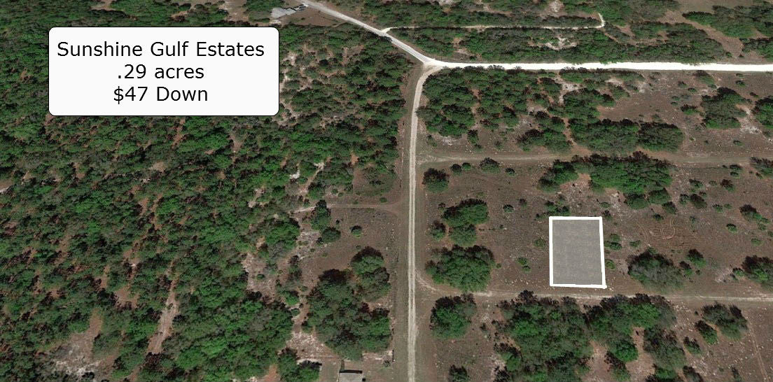 .29 Acre Cleared Lot Minutes to Crystal River-Owner Financing