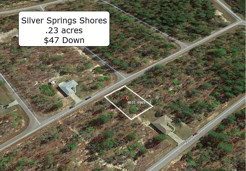 .23 acre Partially Cleared lot on Paved Road-Multiple Lots Available