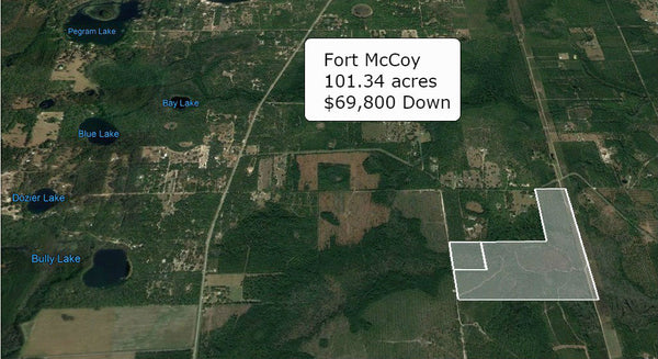 Huge ROI ! 101.34 Acres Lot-Great for Building a Home and Having a Farm!