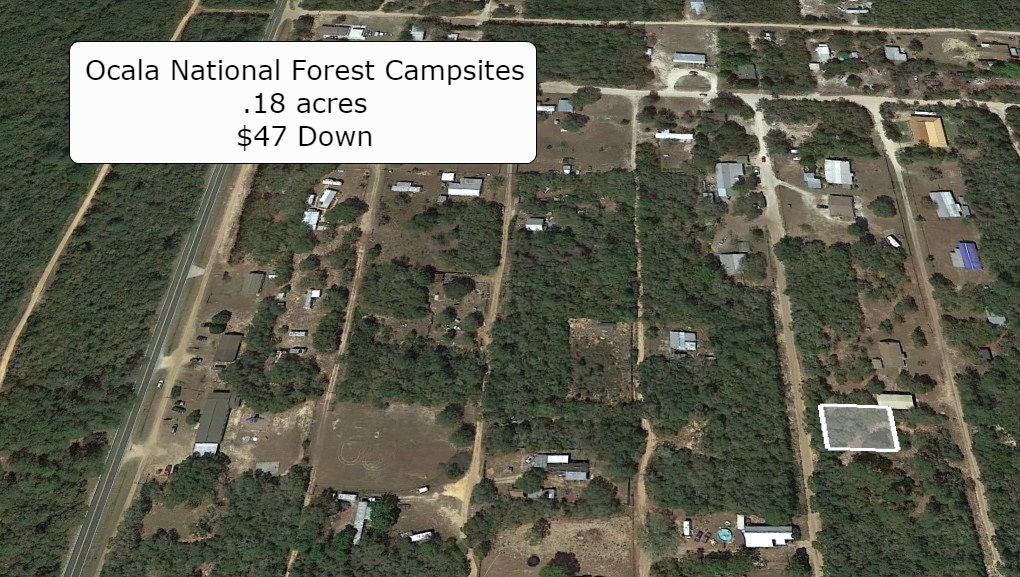 Pristine .18 Acre Lot- A Great Place to Live- Close to Lake Ocklawaha