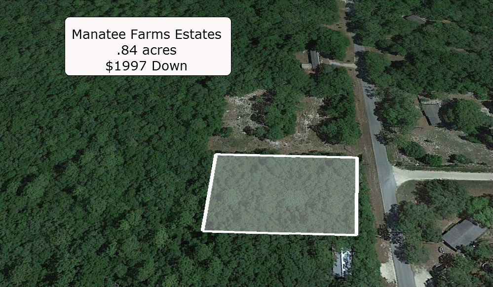 Beautiful .84 acre Corner lot on Paved Road Close to Hwy 19 - Owner Finance