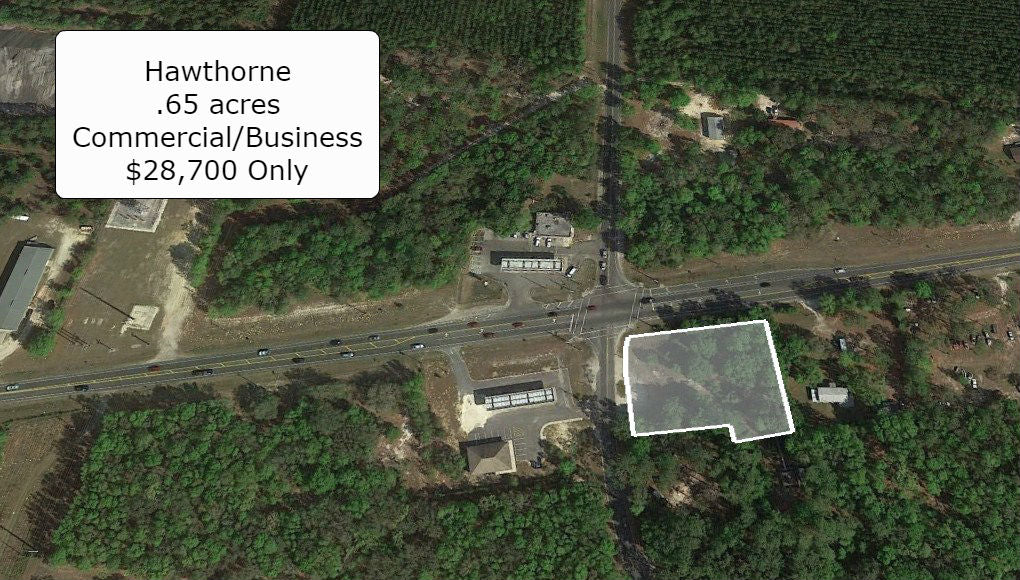 Premium .65 Acre Corner Commercial Lot-Direct Access from 2 Roads